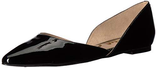 Sam Edelman Women's Rodney Ballet Flat, Black Patent, 9 M US