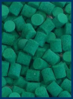 Pack of 25pcs 9.52mm 3//8 Diameter, Green Parts for Woodwind Repair MusicMedic.com Saxophone Bumper Felts