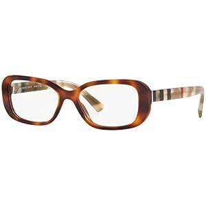 Burberry Women's BE2228 Eyeglasses Light Havana 53mm