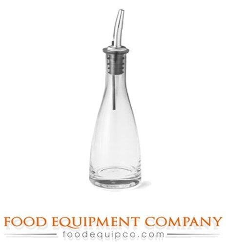 TableCraft Products 611 6 oz O&V Bottles with S/Pourers (Pack of 12)
