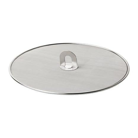 IKEA STABIL - pantalla de salpicadura, acero inoxidable - 33 cm: Amazon.es: Hogar
