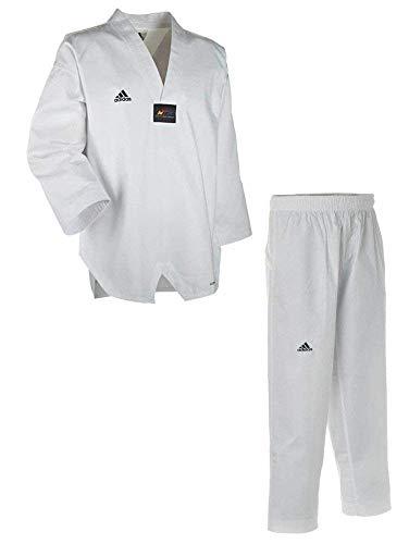 adidas ADICHAMP 3 TKD Uniform - v-Neck White - 5