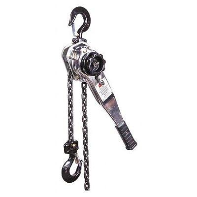 Lever Chain Hoist, 3300 lb, 5Ft Lift