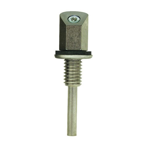 Single Jet Washer Nozzle Single with 45° Angle Face for Windshield Washer Systems