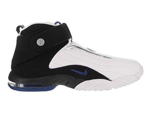 Nike Air Centesimo 4-864018-100 - Bianco, Nero-blu Atlantinc