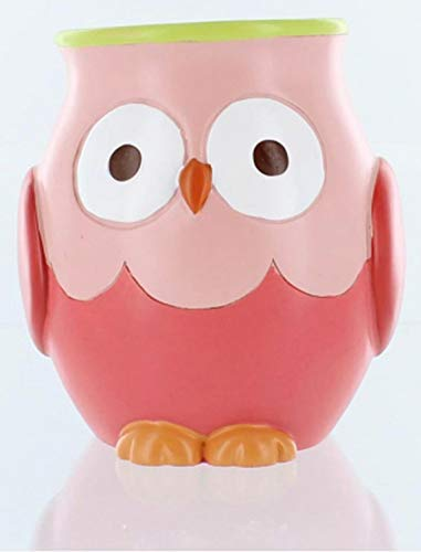 Hooty Bathroom Collection-Colorful Hoot Owl Bath Accessories (Tumbler) (Owl Bath Accessories)