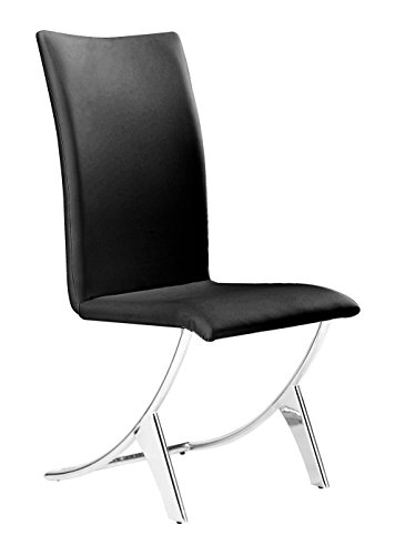 Zuo Delfin Dining Chair Black (Delfin Dining Chair)