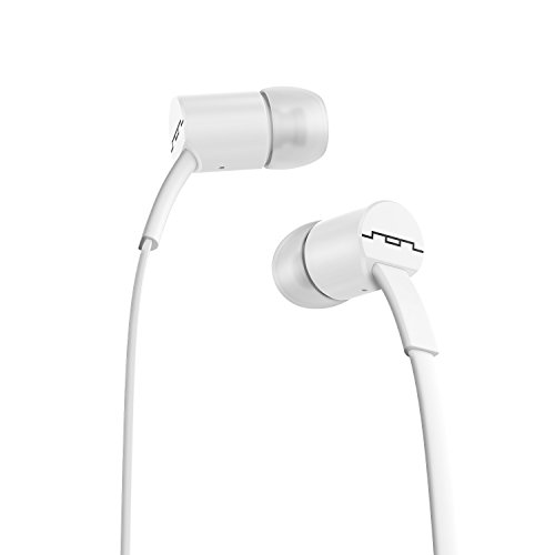 SOL REPUBLIC Jax Wired 1-Button In-Ear Headphones, Android Compatible, Tangle Free Cable, In-Ear Noise Isolation, 4 Ear Tip Sizes, Great For Calls, 1112-32 White by SOL REPUBLIC