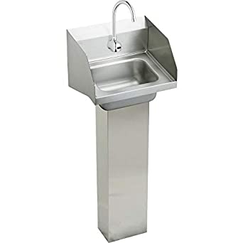 Amazon.com: Elkay chsp1716lrssactmc Pedestal Mount Handwash ...