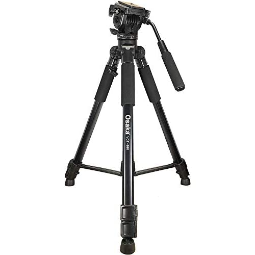 LD Osaka VCT880 Camera Tripod with Bag for Digital SLR Video Cameras Load Capacity 5000 Grams