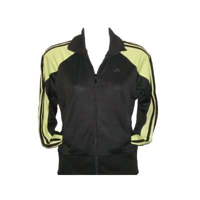 Adidas Legacy Jacket for Women / Black /VitaGreen (Medium)