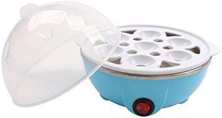 Pentola per uova elettrica a riscaldamento rapido7capacità di cottura a vapore caldaia a vapore pentole da cucina portatili stoviglie pentole