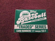 Gonzalez Baseball Luis (1991 Topps Baseball Traded Factor Set 132 Cards! Rookie Cards of: Ivan Rodriguez, Jason Giambi, Jeff Bagwell, Charles Johnson, Luis Gonzalez)
