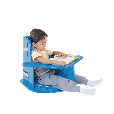 FEI 30-3050 Tumble Forms Corner Chair with Removable Tray, 125 lb. Load Capacity, 26