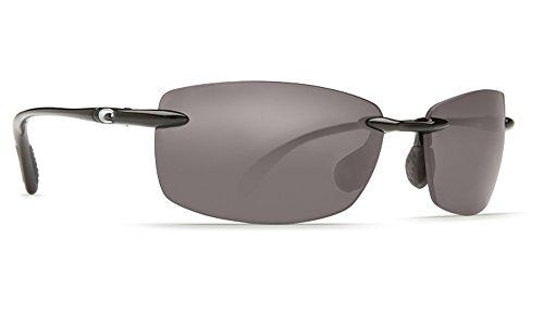 Costa Del Mar Ballast C-Mates 1.50 Sunglasses Shiny Black/Gray 580Plastic