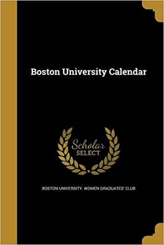 Buy Boston University Calendar Book Online At Low Prices In India