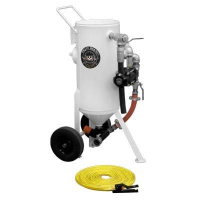 Abrasive Blast Pot / Sandblasting Machine Base Package, Portable, 1.5 Cu Ft (43 Liters)