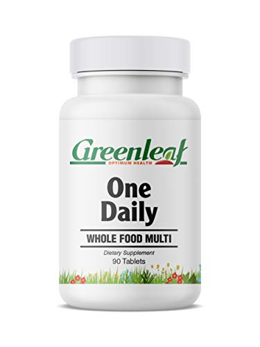 Greenleaf Optimum Health One Daily Whole Food Multi, Organic Herbal Blend, Contains Super Phytonutrients, 90 -