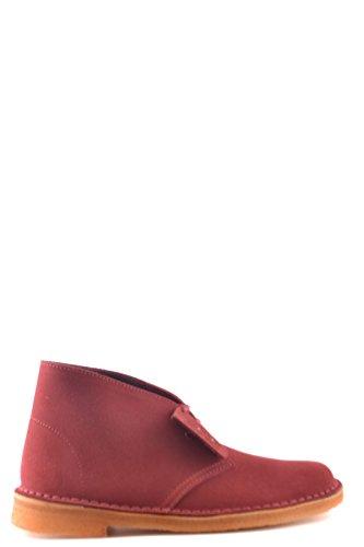 Unisex Mcbi071025o Botines Rojo Clarks Gamuza ZvYCwZq