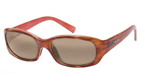 Maui Jim Unisex Punchbowl Tortoise/Pink/Hcl Bronze Lens - Maui Tortoise Jim