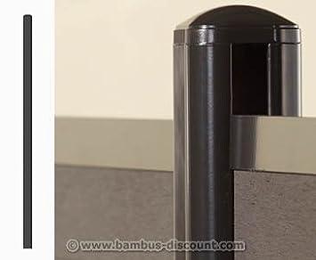 Amazon De Wpc Zaun System Pfosten Aufschrauben 7 3x6 6x192 5cm