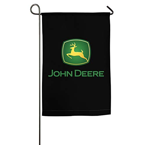 XIELIAN Single Sided Premium Garden Flag, John Deere Decorative Garden Flags - 18 X 12 Inch/18 X 27 Inch Best for Party Yard and Home Outdoor