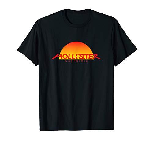 HOLLISTER CA., HOLLISTER SUNSET GIFT SOUVENIR T-Shirt (Hollister Beanie)