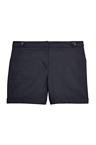 next Mujer Pantalones Cortos Sarga Algodón Ropa De Abajo Azul
