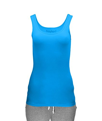 Next Level Womens Jersey Tank Top (3533) -TURQUOISE -S