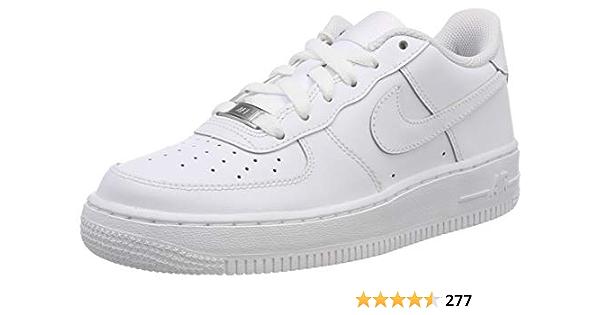 Nike Kids Air Force 1 (GS) White/White