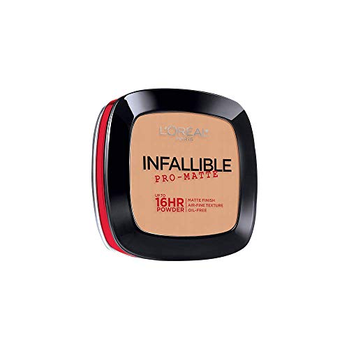 L'Oreal Paris Infallible Pro-Matte Powder, Natural Beige [200] 0.31 oz