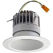 Lithonia Lighting 4BPMW LED M6 4 inch White LED Recessed Baffle Module, 3000K