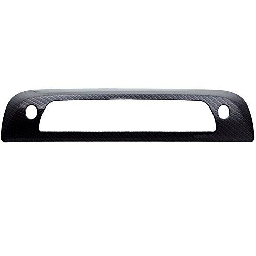 3500 Carbon Fiber (E-Autogrilles Third Brake Light Cover Black Carbon Fiber Look ABS for 14-16 Chevrolet Silverado 1500 / 15-16 Silverado 2500/3500 / 14-16 GMC Sierra 1500 / 15-16 Sierra 2500/3500 (68-0102CF))