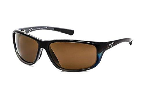 Maui Jim Spartan Reef H278-03F   Polarized Marlin Wrap Frame Sunglasses, Patented PolarizedPlus2 Lens Technology