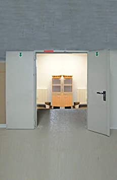 Porta cortafuegos para pared Rei 120 antiincendios de 2 puertas ...