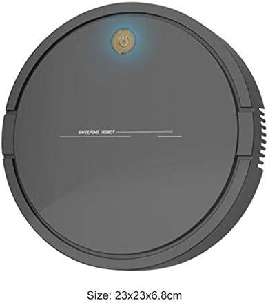 Aspirateur robot intelligent Chargeur USB Robot de balayage sans fil Ménage Aspirateur de nettoyage des cheveux à la poussière Nettoie le sol dur au tapis