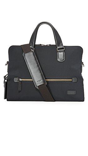 (Tumi Men's Harrison Nylon Taylor Portfolio Briefcase, Black, One Size)