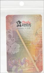 Tandy Leather Factory Bulk Buy Perma Lok Lacing Needle Use with 3/32 inch or 1/8 inch Lace 119301 (3-Pack)