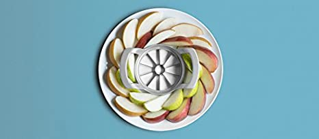 51102260 Grey 10-Slices Westmark Germany Stainless Steel Apple Slicer and Corer