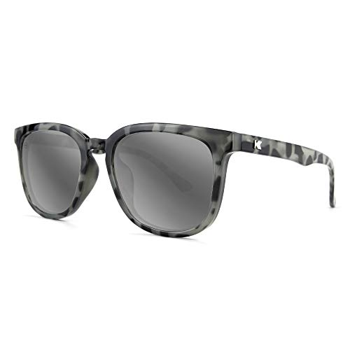 Knockaround Paso Robles Polarized Sunglasses With Grey Tortoise Shell Frames/Silver Reflective ()
