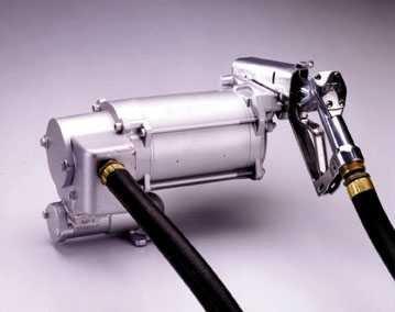 Rotary Vane Standard Motor Pump - GPI 133220-1 Aluminum M-3130-ML Super Duty Vane Pump, 115/230V AC, 30 GPM