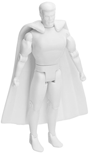 "Spherewerx Create Your Own Comic Book Hero Superhuman Male Customizing Blank 4"" Action Figure"