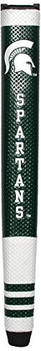 Team Golf NCAA Michigan State Spartans Golf Putter Grip with Removable Gel Top Ball Marker, Durable Wide Grip & Easy to Control