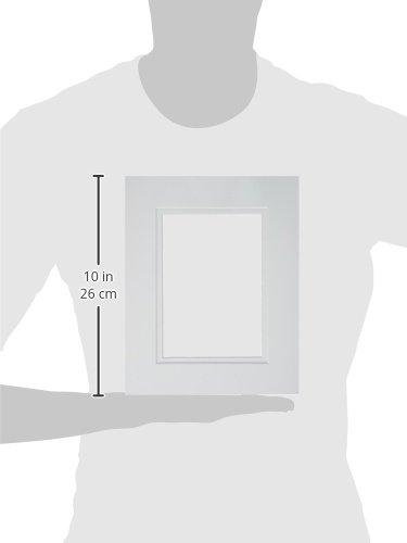 ARTISTREE 10083921 Mat 8X10 Rect Double White.White