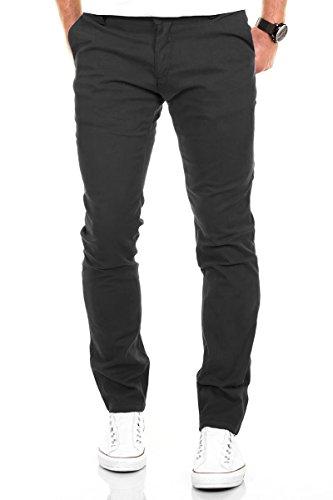 Diversi Uomo Merish Casual Colori Modell Scuro Chino sollecitato Grigio Cotone Jeans Pantaloni Figura 168 8pdpwFq