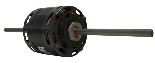 Fasco D236 4.4-Inch Fan Coil Air-Conditioning Motor, 1/10 HP, 115 Volts, 1550 RPM, 3 Speed, 3.5 Amps, OAO Enclosure, Double Shaft, Sleeve Bearing