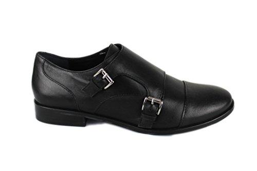 Femme Cuir Chaussure Noir Zerimar Confortable Por Pour En Casual f7BIqTFI