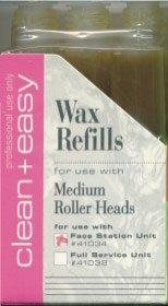 Clean+Easy Wax Refills Medium Roller Heads - 3 Pack Clean+ Easy