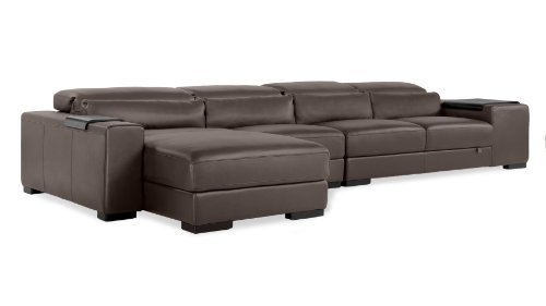 Dutch Leather Sectional Sofa – Left Configuration