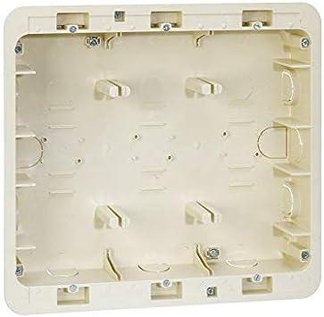 Simon 27857-61 - Caja Empotrar 3 Filas: Amazon.es: Bricolaje y ...